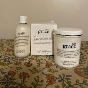 Philosophy Pure Grace Body Cream & Shower Gel Set